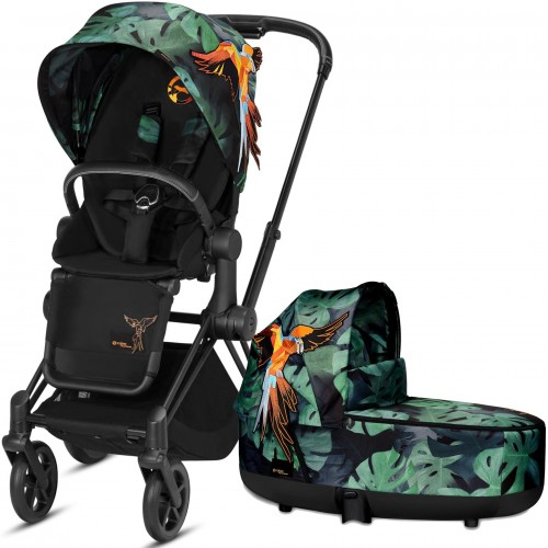 Коляска 2в1 Cybex Priam III Birds of Paradise