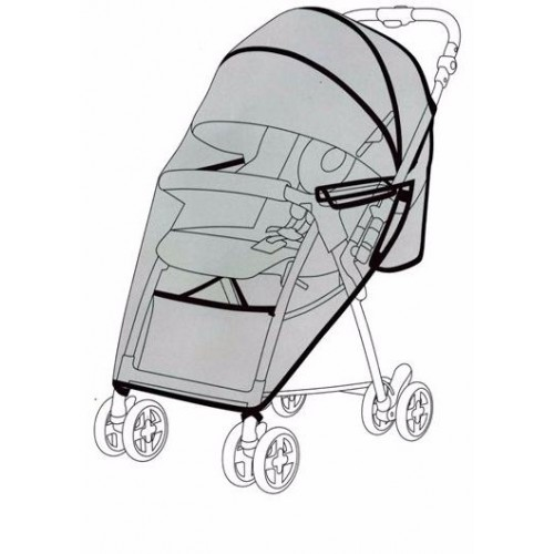 Дождевик для колясок JOIE Float/Aire Lite/ Aire Skip/ Sma Baggi
