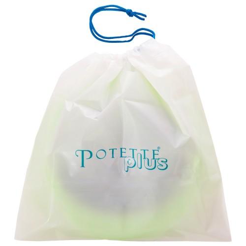 Складной дорожный горшок Potette Plus + 10 пакетов